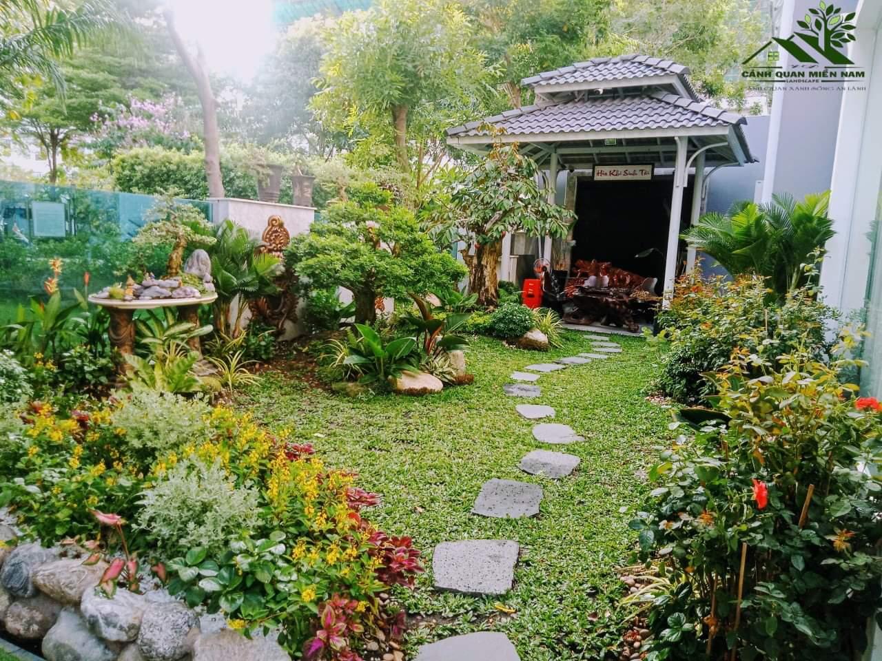 Dịch vụ trồng cỏ và trồng cây xanh uy tín